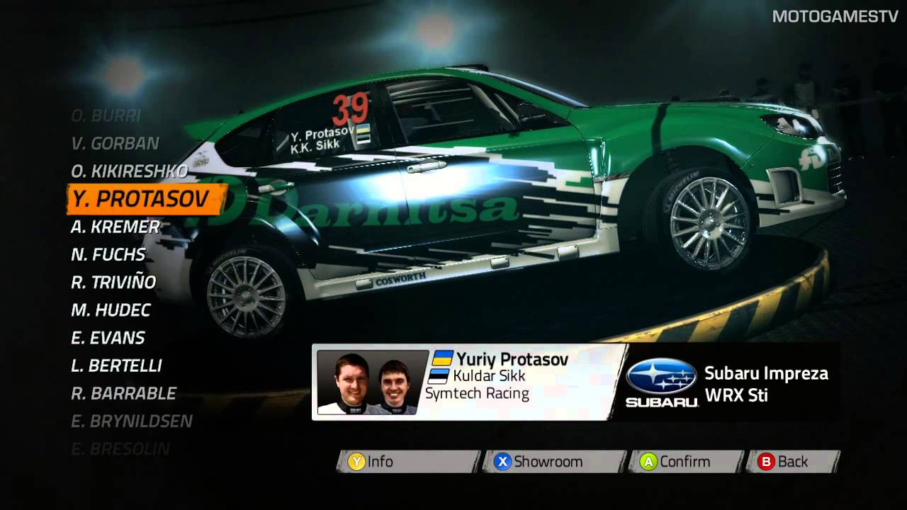 Wrc 4 All Teams And Cars Youtube