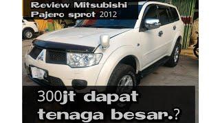 Review Mitsubishi Pajero Sport Dakar 4x2 Automatic 2012 Indonesia