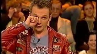 Der Spaltgriff verursacht bei Ralf Schmitz einen Lachanfall !!!