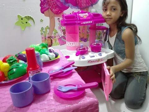 لعبة المطبخ للاطفال لعبة المطبخ الحقيقي العاب بنات