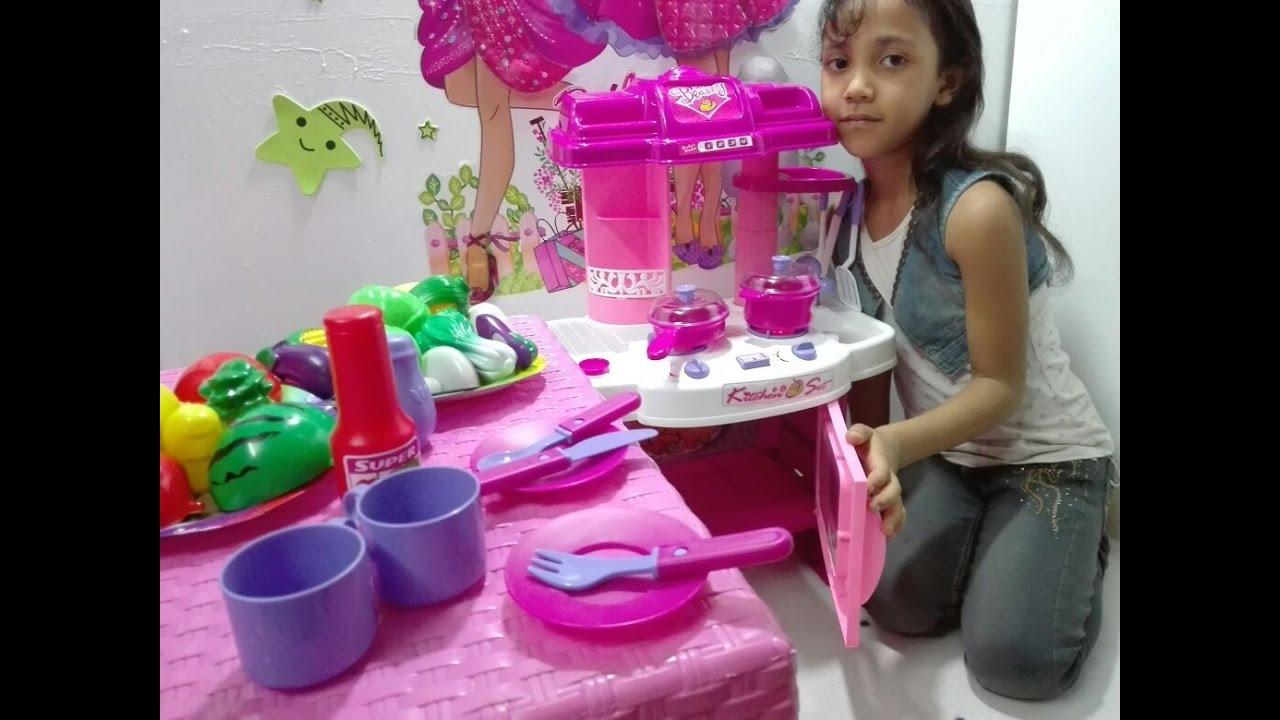 ac45ccce3 لعبة المطبخ للاطفال : لعبة المطبخ الحقيقي : العاب بنات و أولاد ...