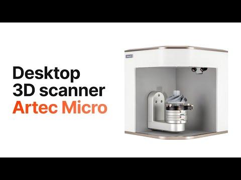 The Artec Micro Desktop 3D Scanner