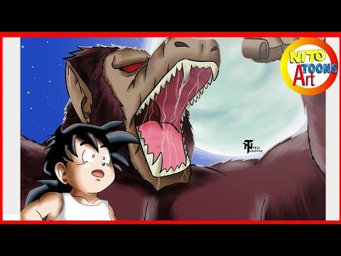 Dibujando a Gohan - Dragon Ball Z - Nito toons