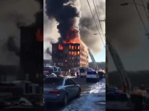 Holyoke Fire Dept 1/1/17 Evac