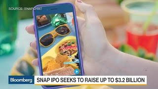 Snap Seeks to Raise up to $3.2 Billion in U.S. IPO