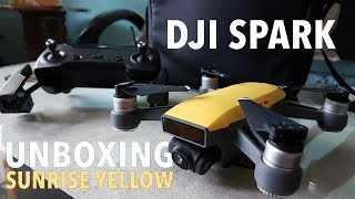 Unboxing DJI Spark Fly More Combo - Sunrise Yellow (Bahasa Indonesia)