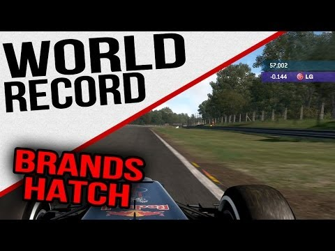 F1 2013 - WORLD RECORD - Brand Hatch