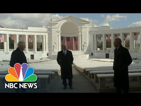 Former Presidents Obama, Bush, And Clinton Ask Americans To Work Together | NBC News NOW