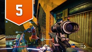 Destiny (PS4) - Live Crucible Multiplayer Gameplay #5 - DOING SOME SNIPING!