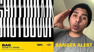 Gambar cover Bag Reaction - DIVINE (feat. KR$NA) Reaction | UNCUT Reaction