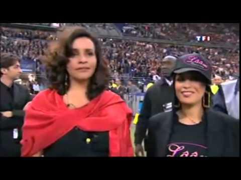 Amina Annabi - Hymne National Tunisien stade de France