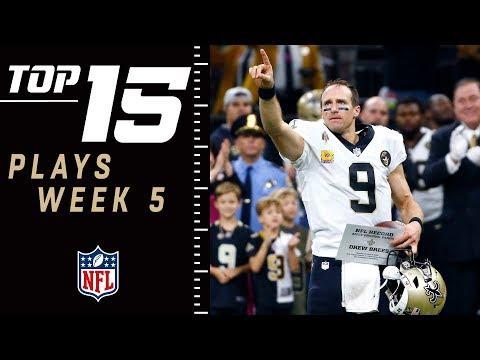 Top 15 Plays of Week 5 | NFL 2018 Highlights