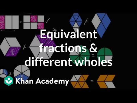 equivalent-fractions-and-different-wholes- -fractions- -4th-grade- -khan-academy