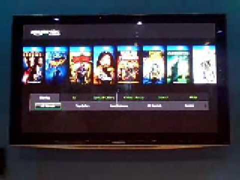 Amazon Video On Demand on Panasonic Viera Cast