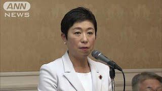 「桜田大臣、任に値せず」辻元氏が不信任提出の構え(19/03/26)