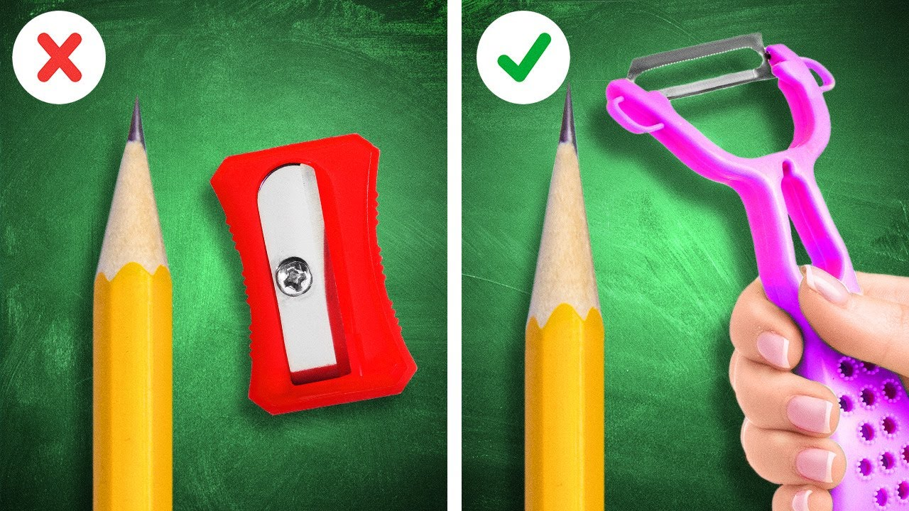 Creative DIYs And Hacks For School You Should Try! Cool Ideas By A PLUS SCHOOL
