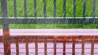Rain Sounds for Sleeping | Fall Asleep & Stay Sleeping with Rainstorm White Noise | 10 Hours