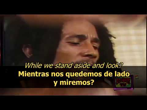 Redemption song - Bob Marley (LYRICS/LETRA) (Reggae acoustic)
