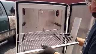 How to Convert an Old Refrigerator into a Pellet Smoker with Pellet Pro®