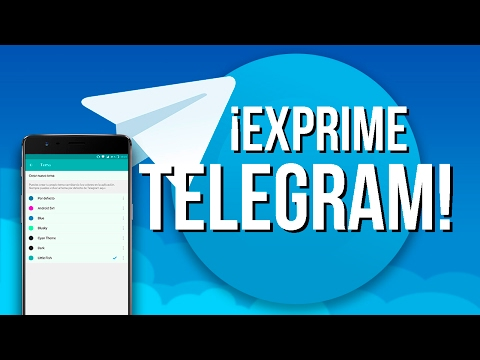 Telegram, EXPRIME LA MEJOR APP de mensajería