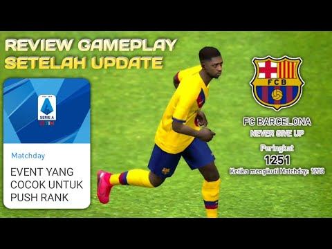 Review Gameplay Setelah Update - eFootball Pes 2020 Mobile - 동영상