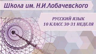 Русский язык 10 класс 30-31 неделя Основные требования к речи. Типы речи