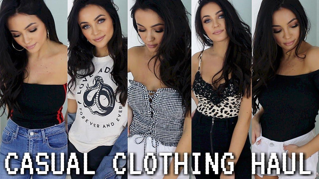CASUAL + CUTE CLOTHING HAUL FOR SPRING/SUMMER! | Stephanie Ledda 5
