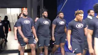Georgia Team Walk-through - SEC Championship Game - Friday, December 6, 2019