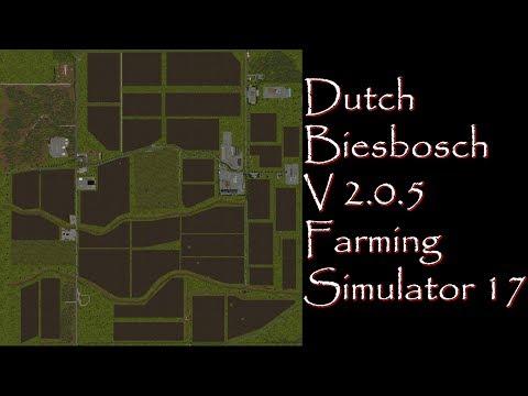 Farming Simulator 17 - Map First Impressions - Dutch Biesbosch V2.0.5