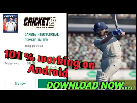 How To Download Cricket 19 On Mobile | 101 % Working | How To Download Cricket 19 On Android Ppsspp