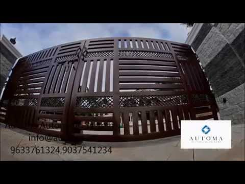 Automatic Gate in India 9633761324,info@automa.in - YouTube