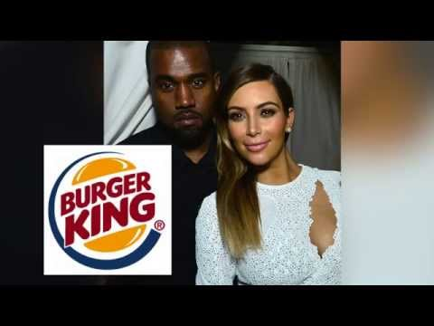 Kanye West Buys Kim Kardashian 10 Burger King Franchises as Wedding Gift