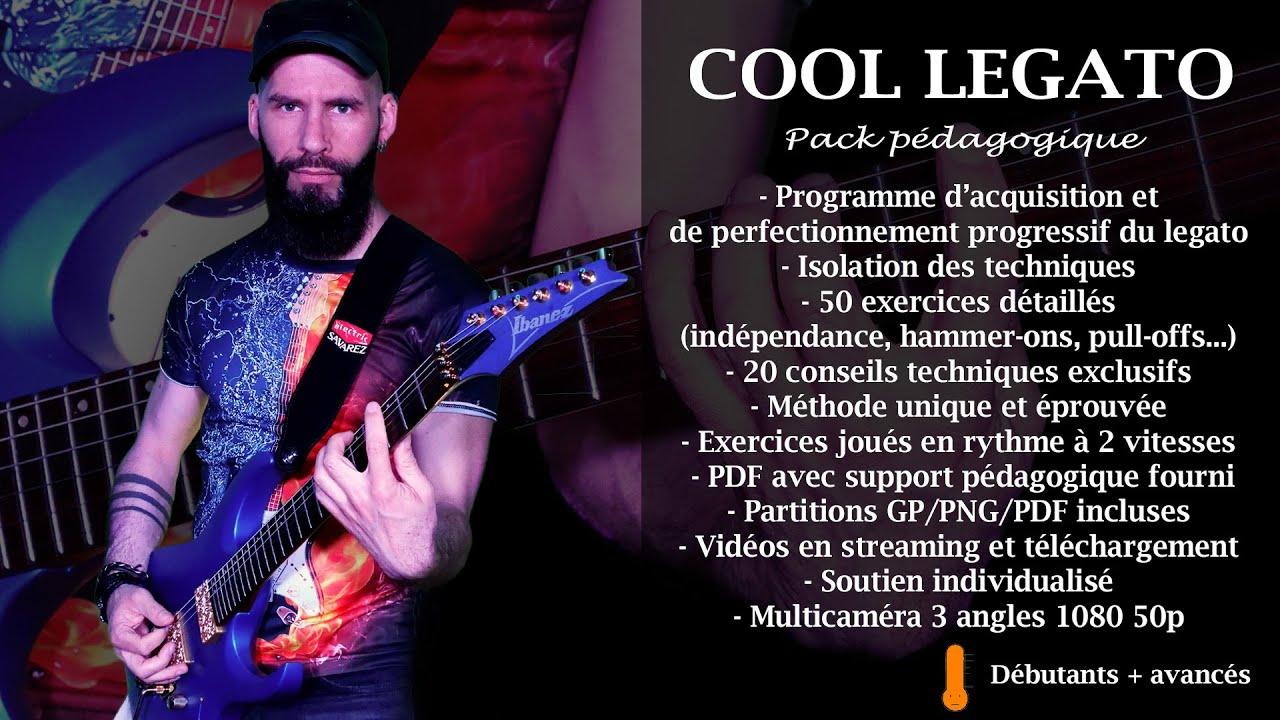 """Nouveau pack pédagogique """"Cool Legato"""""""