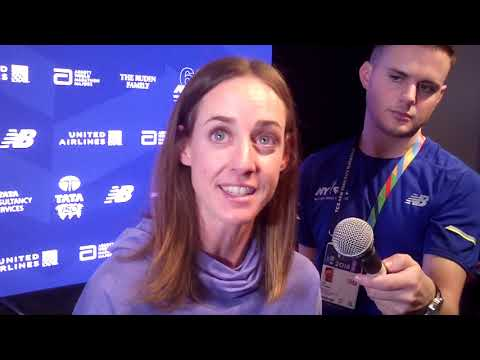 """Molly Huddle was """"definitely worried"""" after her defeat at US 10-mile champs"""