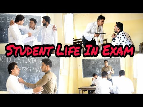 Student Life In Exam – Zeeshan Khan   Red Entertainment Production