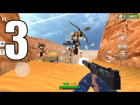 Special Ops: Gun Shooting - Online FPS War Game Android Gameplay #3 - Single Player