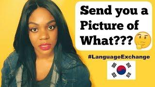 korean boys on language exchange 😩 storytime