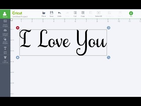Basics of Creating Text Designs with Inkscape for Import to Design Space