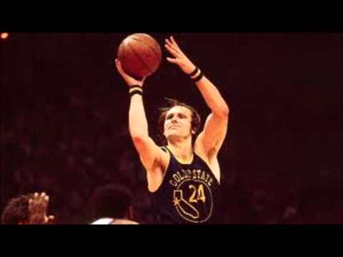 Top Ten Small Forwards- #6 Rick Barry
