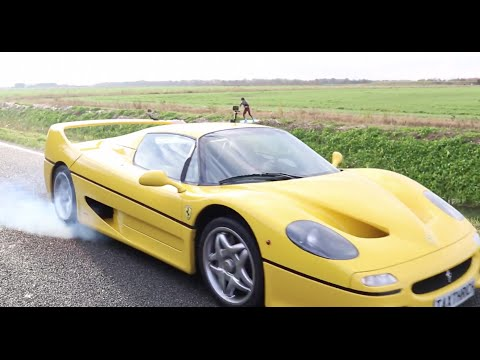 What's it like to wakeboard behind a Ferrari F50? Glad you asked
