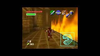 26- Zelda: Ocarina Of Time - Dentro del Templo de Fuego (2/3)