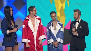 The Try Guys Win Show of the Year - Streamys 2018