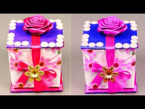 DIY Paper crafts - Surprise gift box ideas - Gift box ideas craft - Small handmade gift box