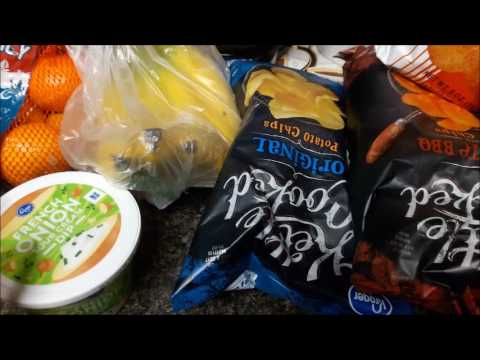 Small Kroger Grocery Haul Using Only eCoupons 7.16.17