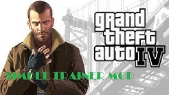 HOW TO INSTALL SIMPLE TRAINER/MOD MENU ON GTA4 (1.0.8.0) (2018)