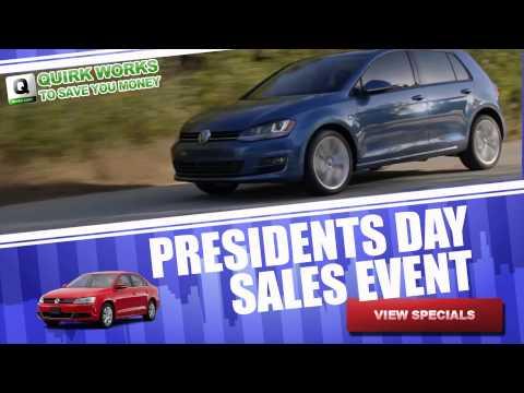 Quirk VW Presidents Day Sale - Boston MA