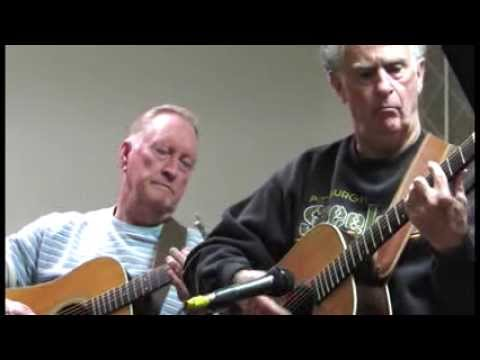 Old-time country and bluegrass music jam