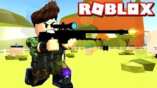 I'M ON MY WAY TO HUNT WITH A BRUTAL SNEER! ROBLOX Huntint Simulator