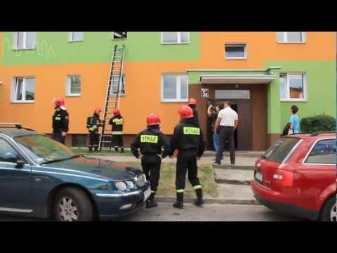 Akcja Straży Pożarnej Szczecinek - Wodociągowa www.iszczecinek.pl