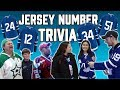 Do YOU Know Toronto Maple Leafs Jersey Numbers?